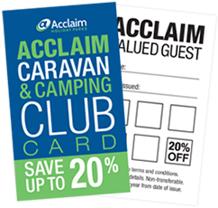 Acclaim Club Card