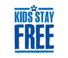 Kids Stay Free - now to end July!