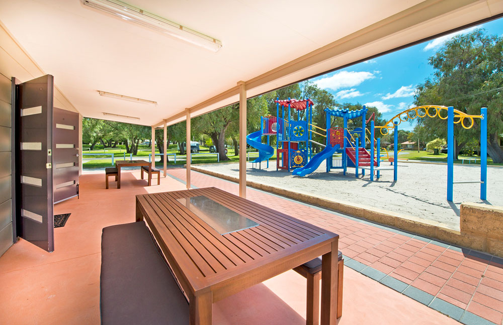 Rec Room Patio and Playground