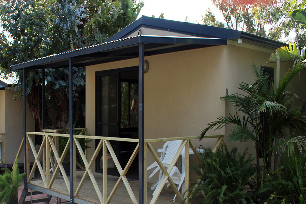 New Studio Ensuite Cabins at Kingsway Tourist Park